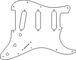 FENDER JAZZMASTER PICKGUARD WHITE THIN PUVETTFNRE14b0RkalZIWnZKSGM together with Metalbraidwaxed likewise Dimarzio Series Parallel Wiring Diagram further Screws Gretsch Style Ring Em2 P135 besides Fender Replacement Nut Hex 3 8 32x3 32   Ni. on humbucker pickup covers